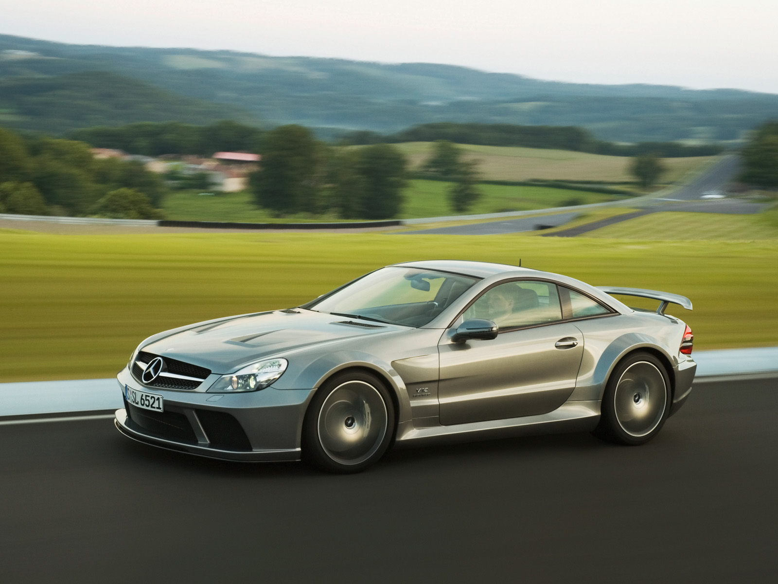2010 Mercedes Benz Sl65 Amg Black Series 171 The Checkered Flag