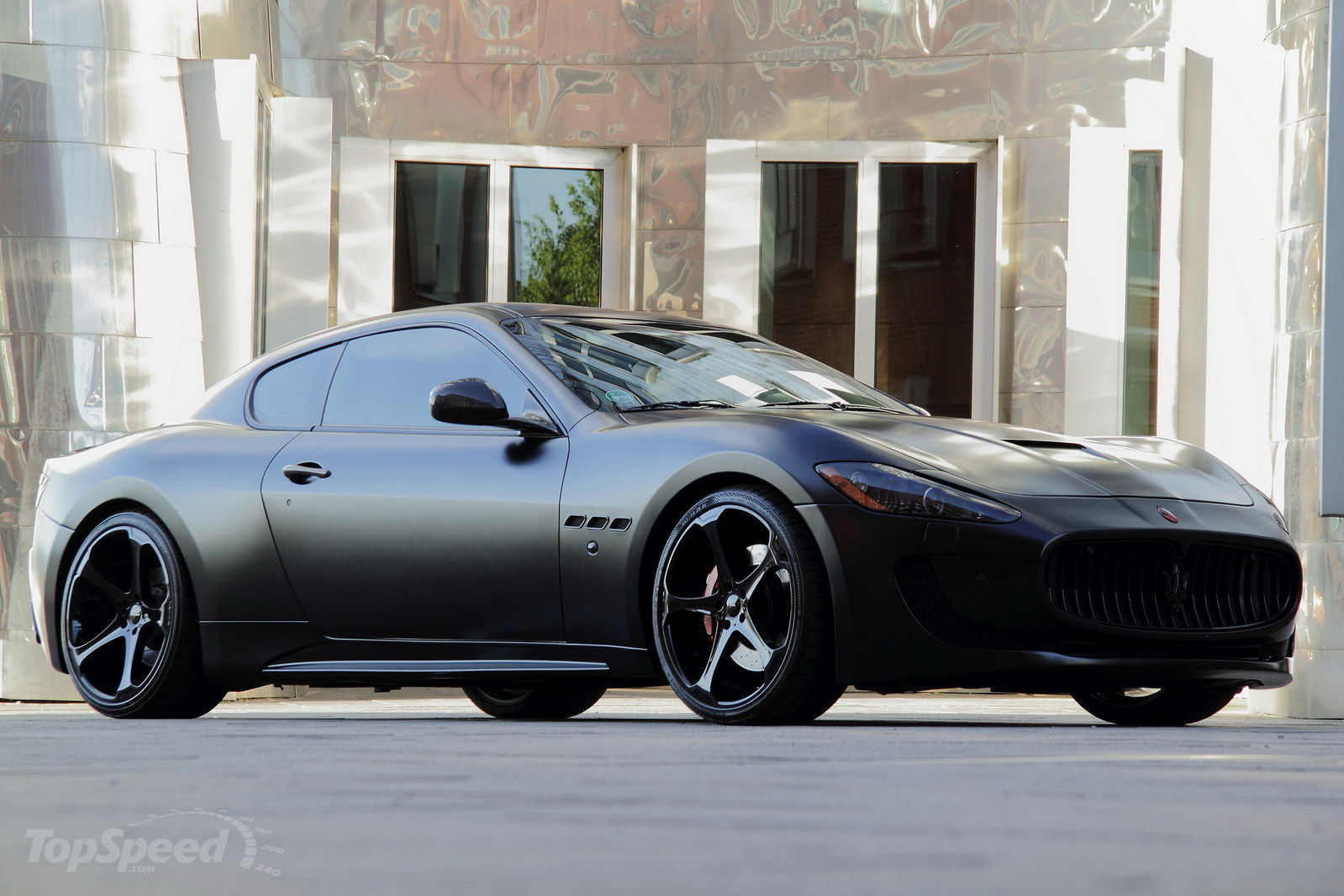 2011 Maserati Granturismo S Superior Black Edition By Anderson Germany on aston martin vantage exhaust