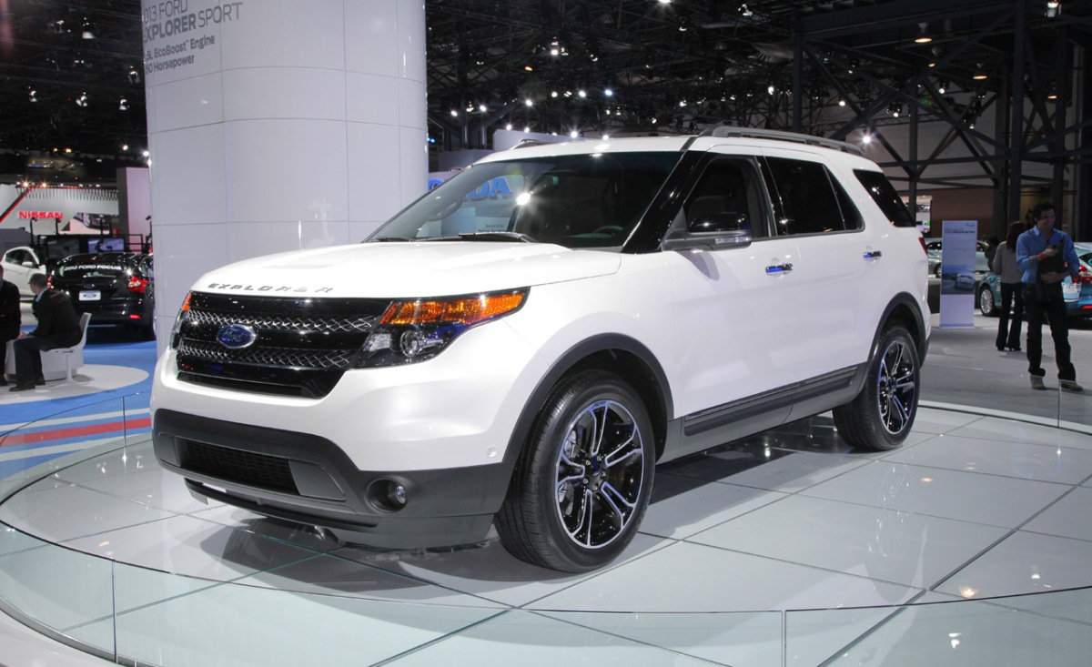 2013 Ford Explorer Sport 2012 Nyias 171 The Checkered Flag