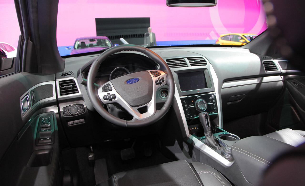 interior - 2013 Ford Explorer Cloth Interior