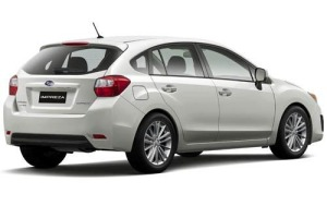 The exterior really changed a good deal, especially on the backside of the Impreza.