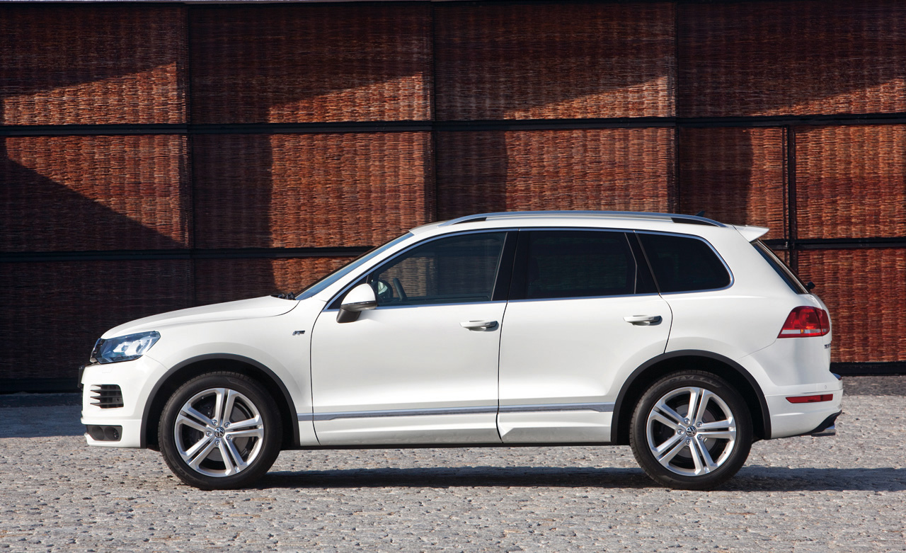 Volkswagen: The Touareg and Tiguan are Getting R's « The Checkered Flag