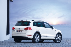 The backside of the Touareg-R