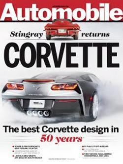 The new Corvette, courtesy of Automobile Magazine