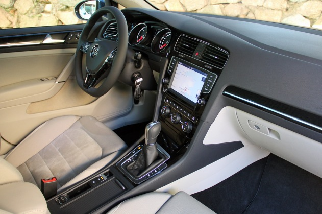 Interior of the 2015 Golf